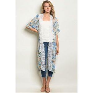 👛ARRIVED 👛 Floral lace kimono